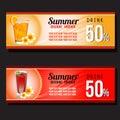 Summer drink discount voucher