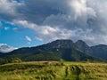 Summer evening Tatra Mountains, Poland Royalty Free Stock Photo