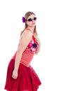 Summer fashion woman Royalty Free Stock Photo