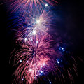 Summer Firework festival Royalty Free Stock Images