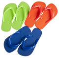 Summer Flip Flop Sandal Background Royalty Free Stock Images