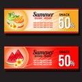Summer food discount voucher