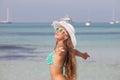 Summer freedom holiday in mallorca spain majorca menorca ibiza Stock Image