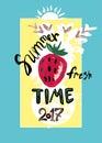 Summer Fresh Time. 2017.