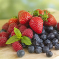 Summer Fruits Royalty Free Stock Photography
