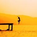 Summer Fun Freedom Lifestyle Royalty Free Stock Photo