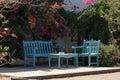 Summer garden furniture Royalty Free Stock Image