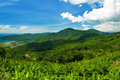 Summer in green mountain phuket thailand Stock Photography