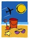 Summer Holiday Stock Photo