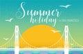 Summer holiday Royalty Free Stock Photo