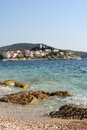 Summer holiday scene on adriatic sea croatia Stock Photography