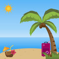 Summer holidays background Royalty Free Stock Photography