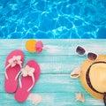 Summer Holidays. Beachwear On ...