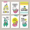 Summer Holidays Cards