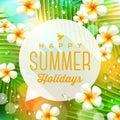 Summer Holidays Greeting