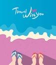Summer Holidays  Illustration,...
