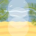 Summer Holidays Illustration F...
