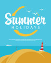 Summer Holidays With Sea
