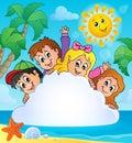 Summer Holidays Theme Image 1