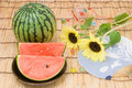 Summer image of japanese style Royalty Free Stock Photo