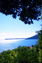Summer landscape with Adriatic Sea Royalty Free Stock Photo