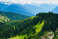 Summer Landscape, Olympic National Park Stock Photography
