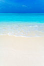 Summer Landscape of Tropical Beach Royalty Free Stock Photo