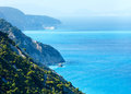 Summer Lefkada Island coast  (Greece) Royalty Free Stock Image