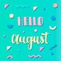 Summer memphis background