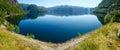 Summer mountain lake Suldalsvatn panorama (Norway)