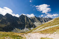 Summer mountain ridge high tatras slovakia eu Royalty Free Stock Photography