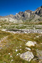 Summer mountains high tatras slovakia eu Royalty Free Stock Photo