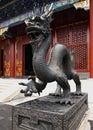 Summer Palace Chinese Dragon Royalty Free Stock Photo