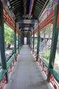 The Summer Palace corridor Royalty Free Stock Photos