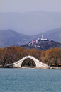 The Summer Palace lake. Stock Photo