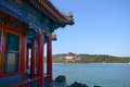 Summer palace tower of buddhist incense Stock Photography