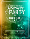 Summer Party Flyer For Music C...