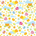 Summer pattern Royalty Free Stock Photo