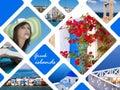 Summer photos of Greek islands, Greece Royalty Free Stock Photo