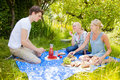 Summer picnic Stock Photo