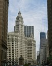 Michigan Avenue From South Water Street Royalty Free Stock Photo