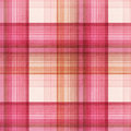 Summer pink candy plaid Royalty Free Stock Photo