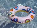 Summer pool background Stock Image