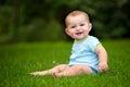 Summer Portrait Of Happy Baby ...