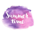 Summer quote poster. Hand lettering quote for posters, t-shirts and prints