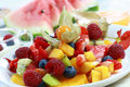 Summer refreshment - fruit salad Royalty Free Stock Photography