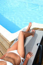 Summer relaxation Royalty Free Stock Photo