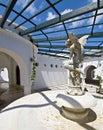 Summer resort in Greece Royalty Free Stock Photos