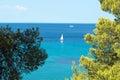 Summer resort of Halkidiki peninsula Royalty Free Stock Photo