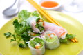 Summer rolls Royalty Free Stock Photo